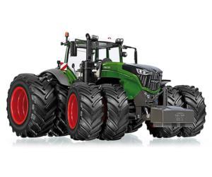 WIKING 1:32 Tractor FENDT 1050 Vario con ruedas gemelas