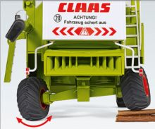 WIKING 1:32 Cosechadora CLAAS Commandor 116 CS - Ítem2