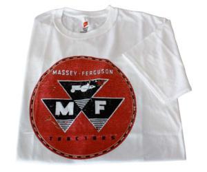 Camiseta logo Massey Ferguson talla 2 XL