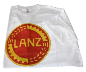 Camiseta logo Lanz talla M