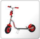 Triciclos y patinetes