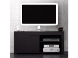 mueble para televisin plana wengu