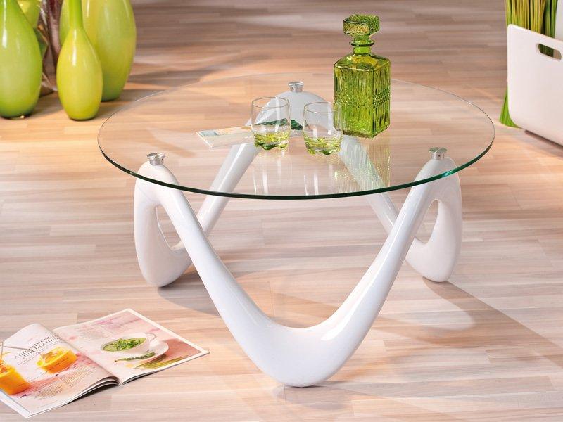 Mesa de sal n dise o circularr para centro cristal for Mesas plegables salon diseno