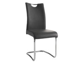 Oferta de silla moderna en cuero sintético