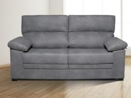 Sofá con asientos extraíble y cabezales abatible