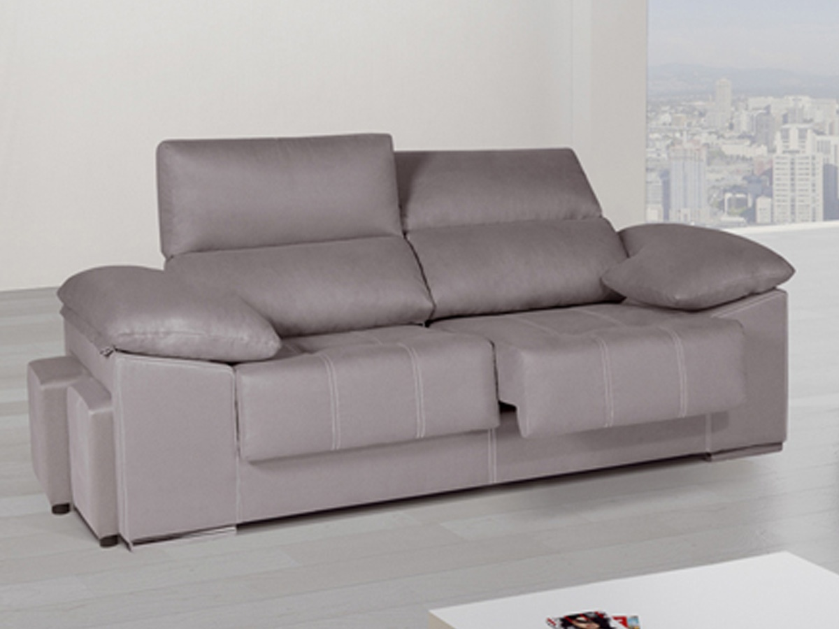 Sofas modernos madrid great sof chaiselonge de piel for Sofas piel madrid
