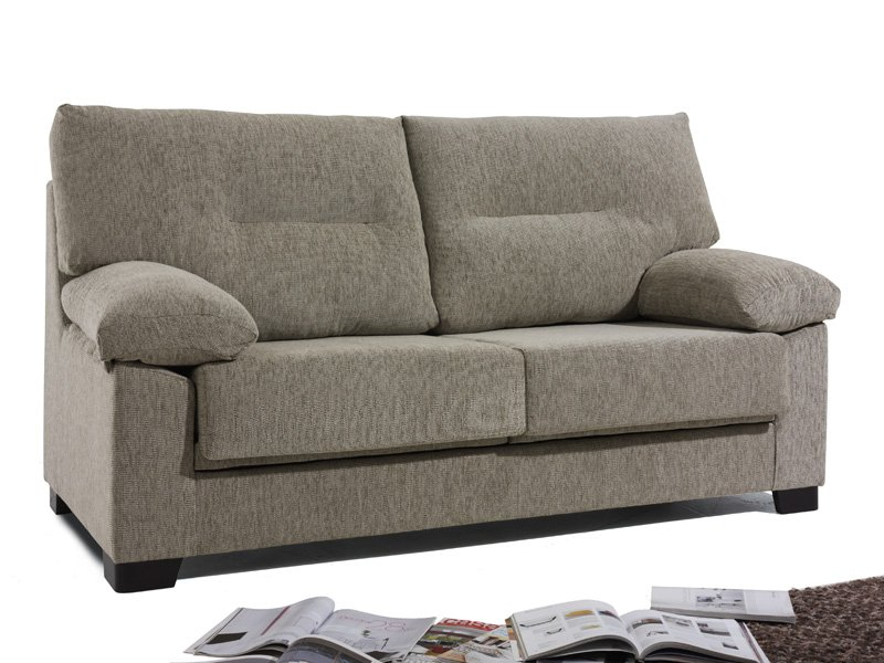 Sofá resistente y confortable