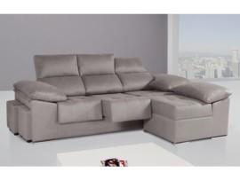 Sofá de 3 plazas con chaise-longue