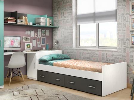 Cama basic con cajones - Ikea cama infantil ...