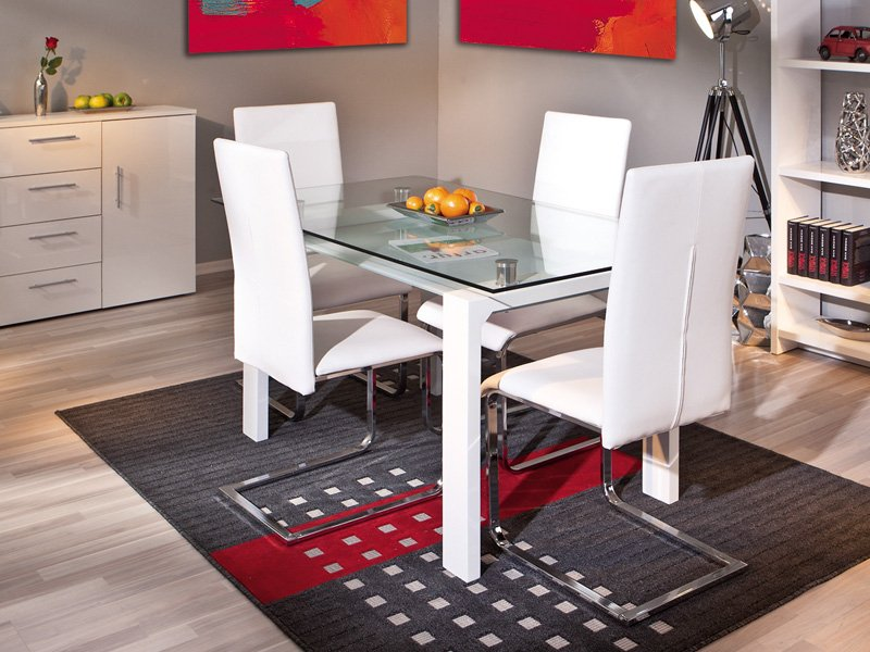Camarotes matrimoniales para espacios pequenos for Adornos mesa comedor cristal