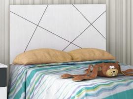 Cabezal juvenil de cama Basic con líneas