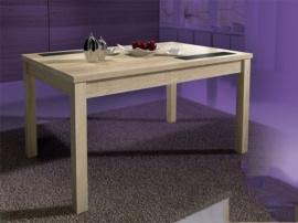 Mesa comedor moderna, diseño vanguardista en dos colores