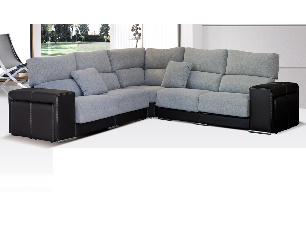 Sofa esquinero peque o for Sofa rinconera pequeno