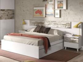 Dormitorio de matrimonio vintage
