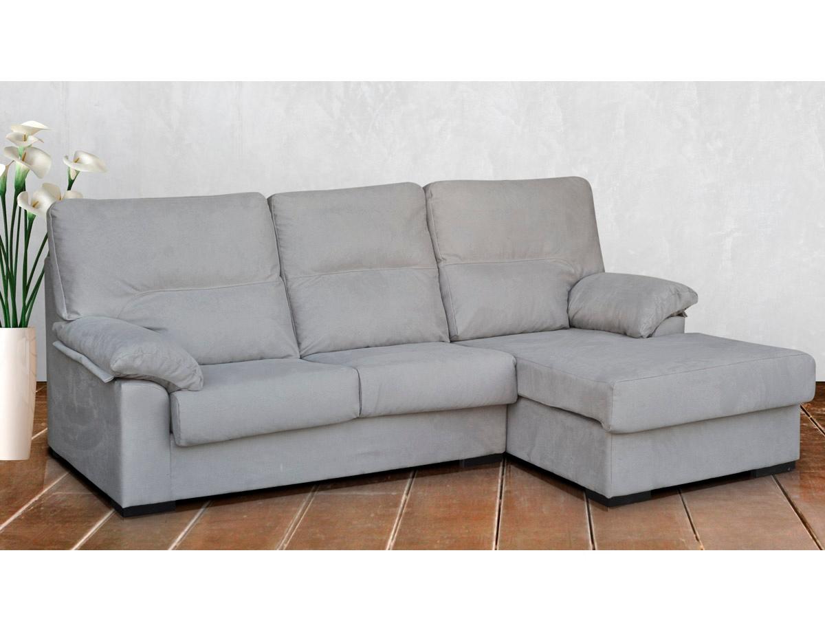 Sof chaise longue tapizado chenillas comprar chaise for Comprar chaise longue barato online