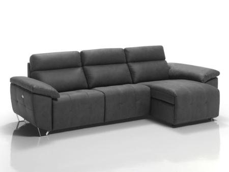 Sof chaise longue relax con canap de mecanismo abatible for Sofas marcas buenas