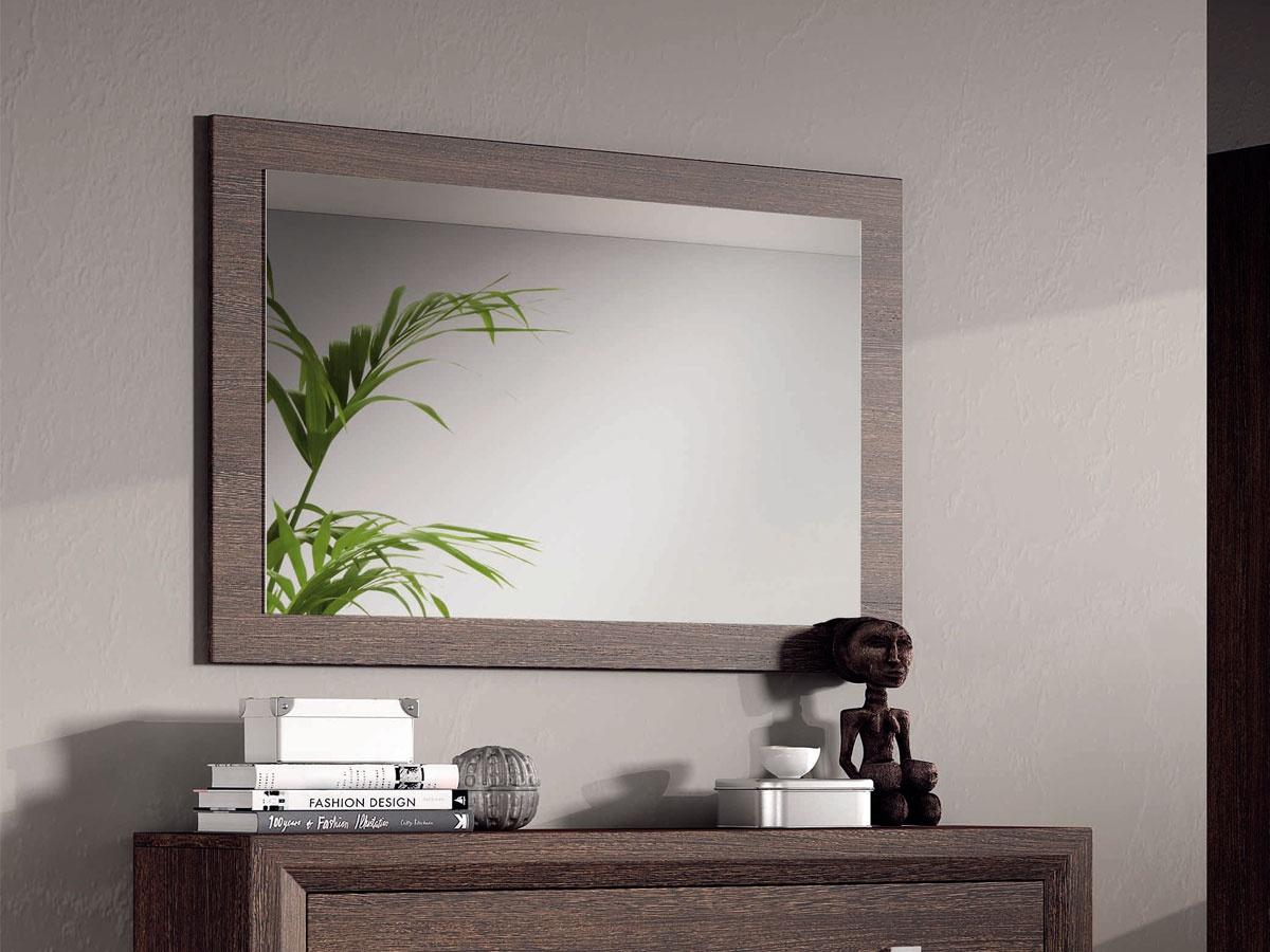 marco de espejo horizontal para c moda o sinfonier a juego