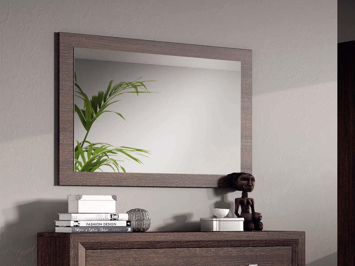 marco de espejo horizontal para c moda o sinfonier a juego ForEspejo Horizontal Salon