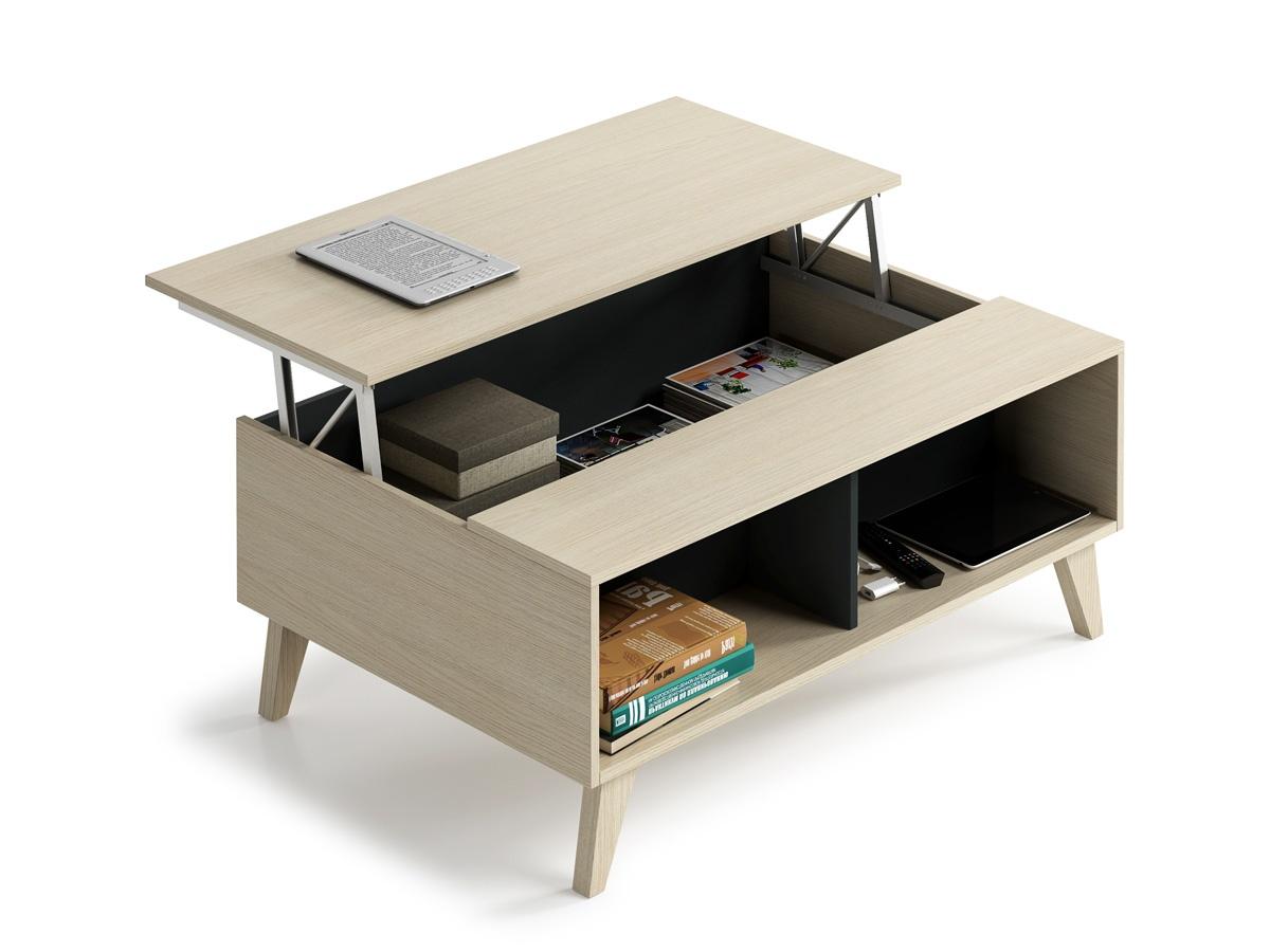 Mesas de centro, modelos auxiliares extensibles y elevables