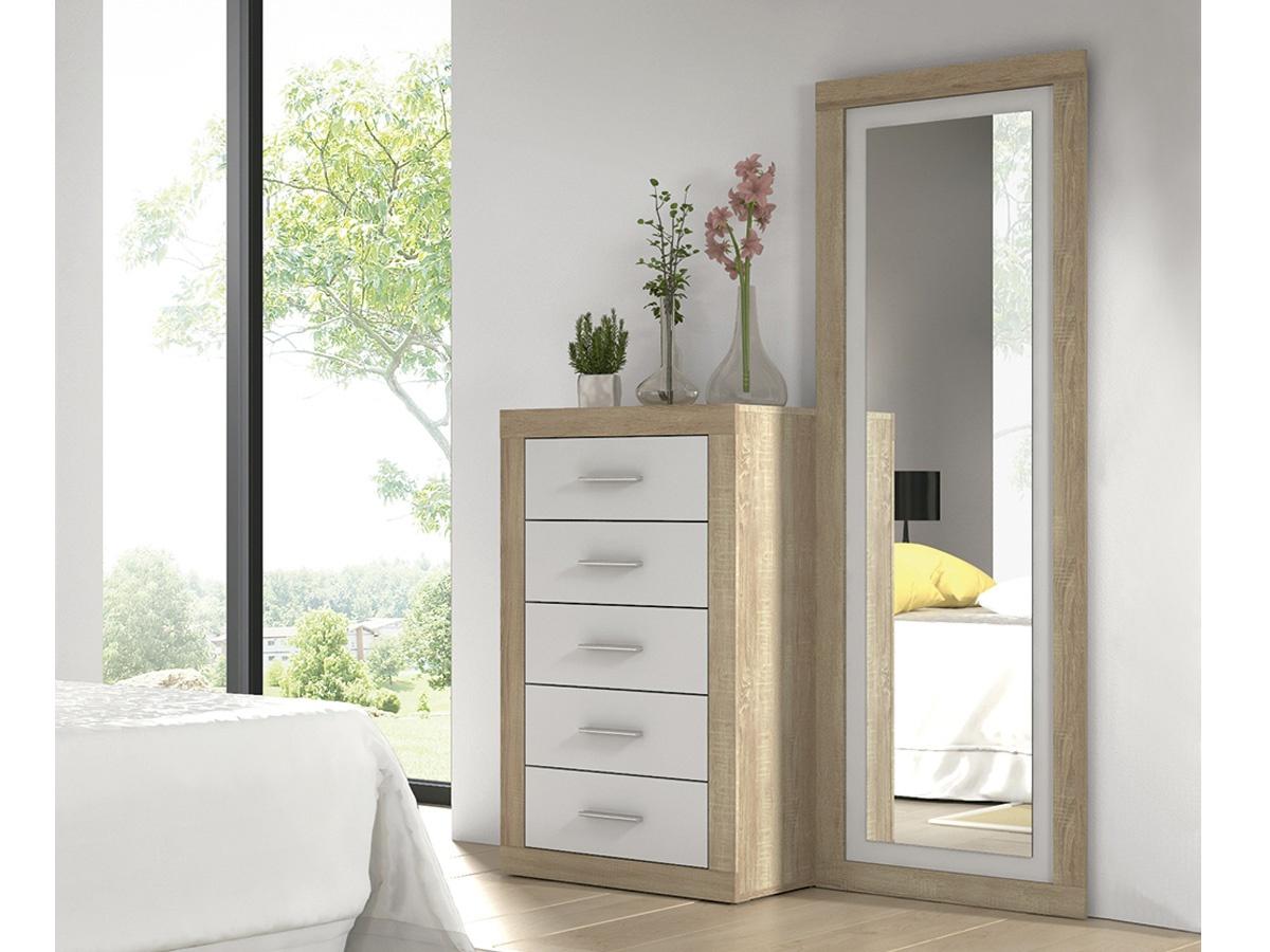 Espejos para comodas cmoda con espejo para dormitorio for Espejos para habitaciones