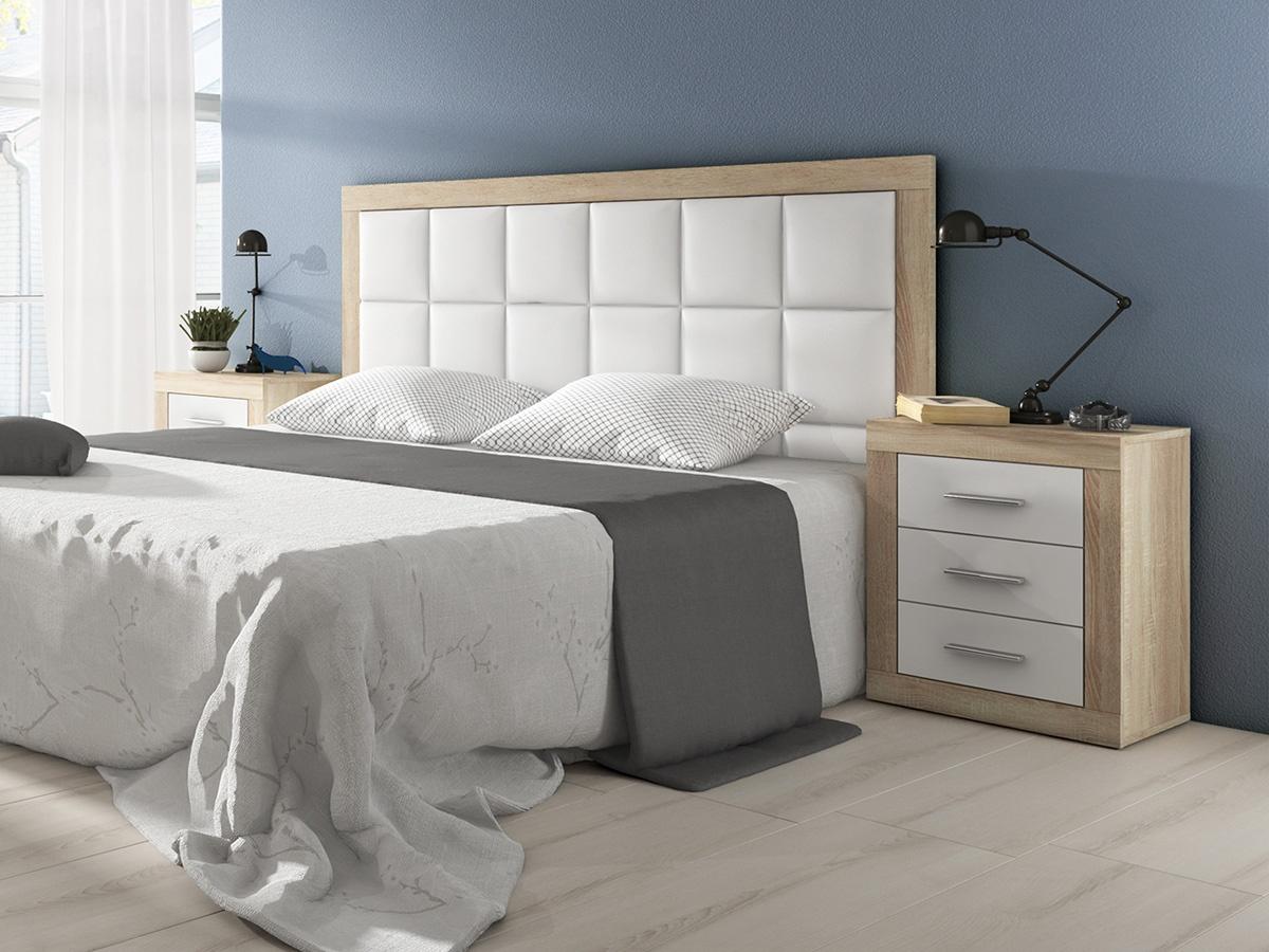 Dormitorio sara - Cabecero cama pintado ...