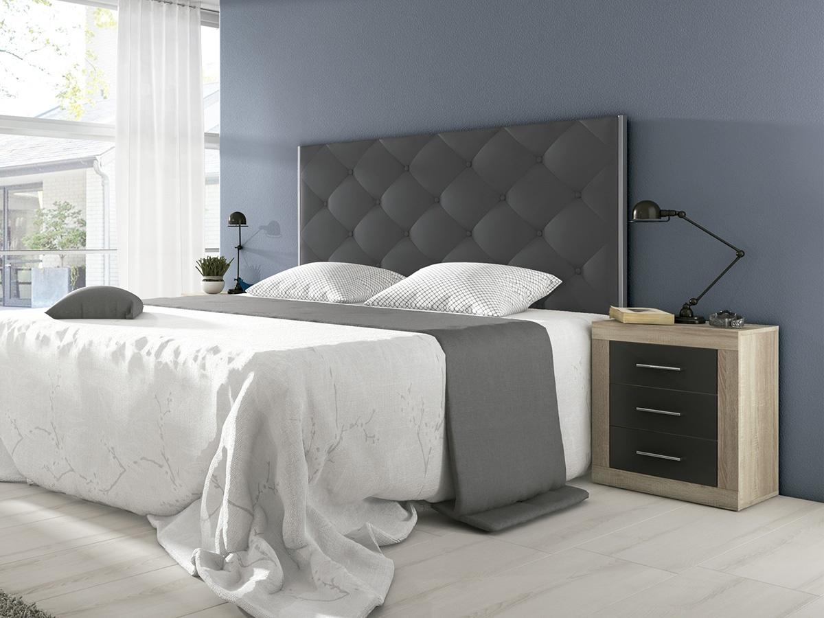 Cabeceros para camas de matrimonio cabecero con patas - Cabeceros cama acolchados ...