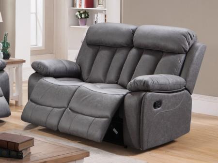 Sof relax 2 plazas sof s con mecanismo relajaci n con reposapi s - Mejores sofas de piel ...
