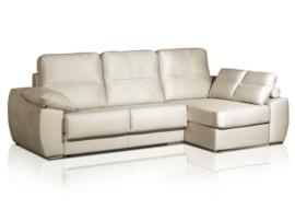 Sofá chaise-longue de lineas rectas