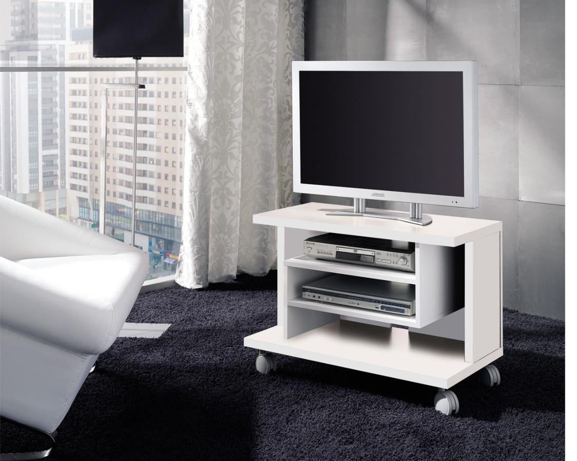 Mueble tv con ruedas reducido - Mueble auxiliar con ruedas ...