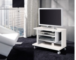 Mueble TV con ruedas reducido