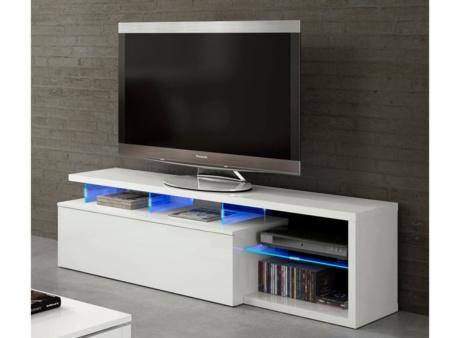 Mesa de tv para sal n blanca mueble mesa de comedor con bandeja - Muebles de tv conforama ...