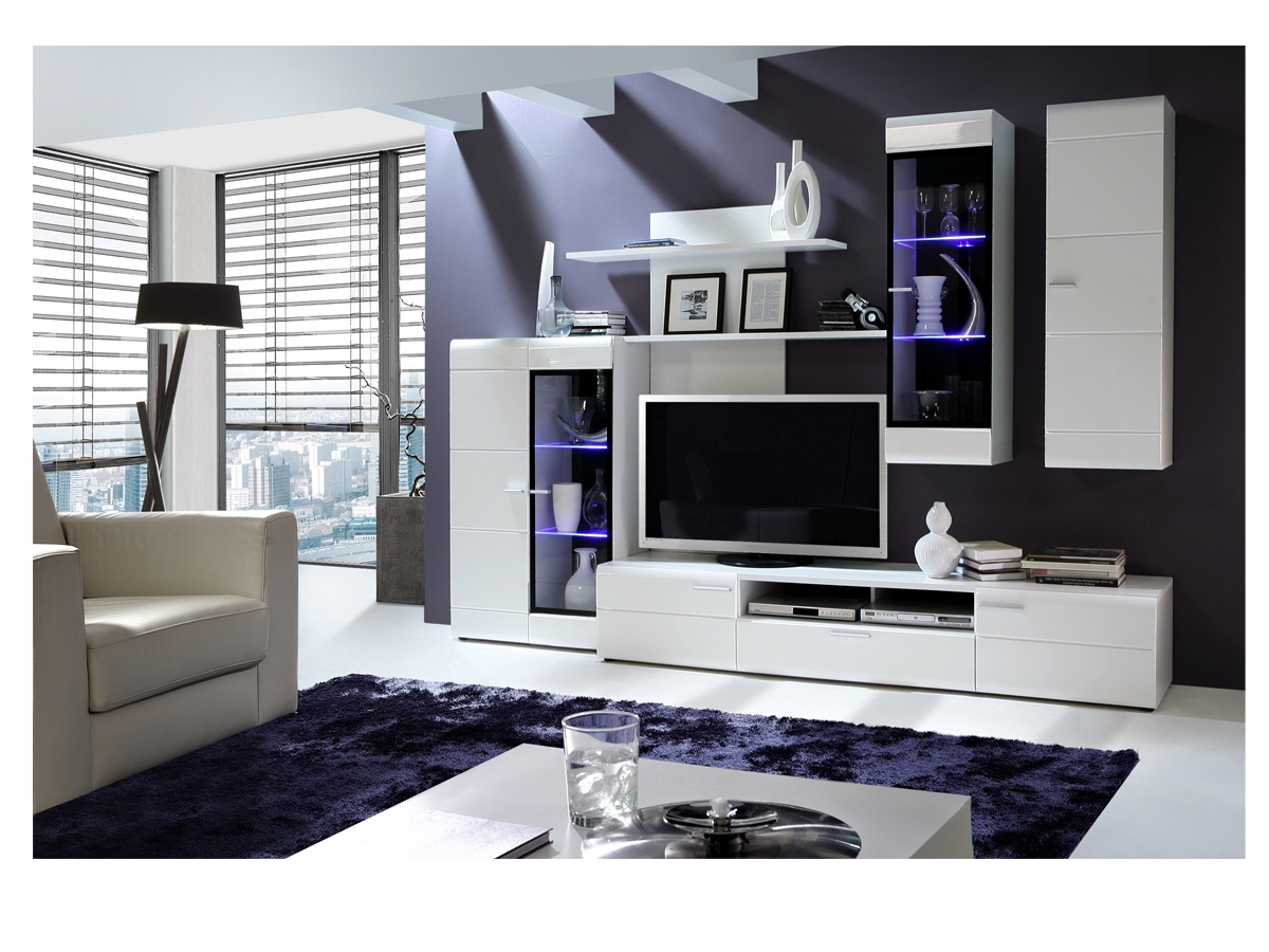 Muebles blanco para salon 20170818000658 - Muebles de salon en conforama ...