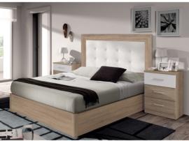 Dormitorio Capitoné de polipiel