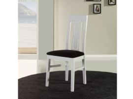 Silla elegante tapizada para salón