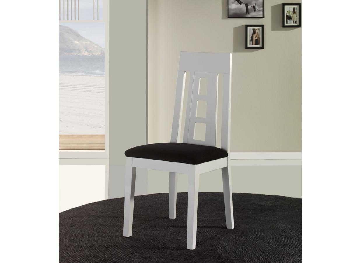 Silla tapizada de comedor disponible en gran variedad de for Sillas comedor polipiel beige