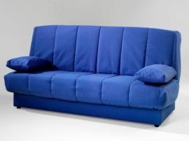Sofá cama reclinable con arcón