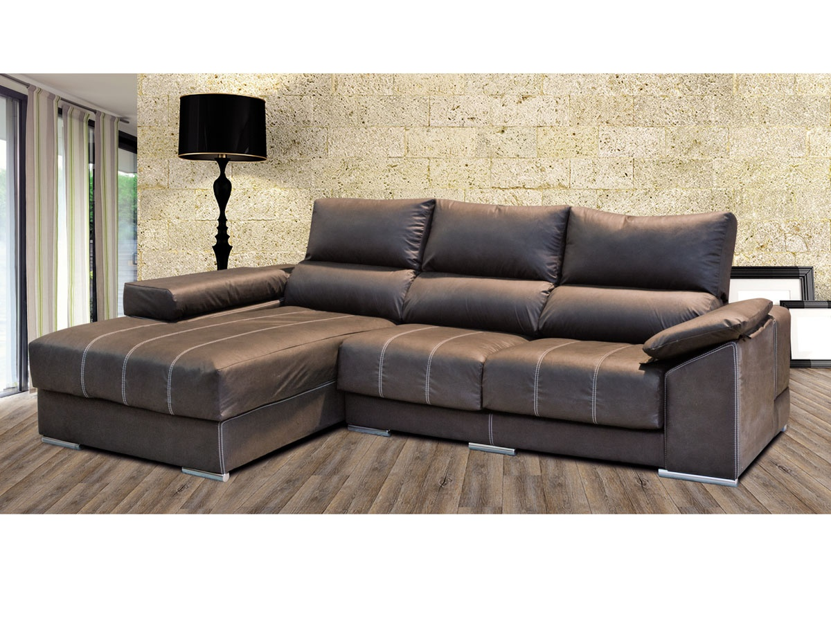 Sof chaiselongue ergon mico confort plus de asientos for Sofas de 4 plazas baratos
