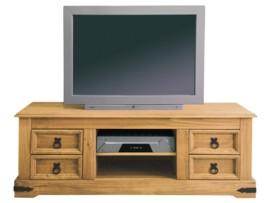 Mesa rústica para Tv