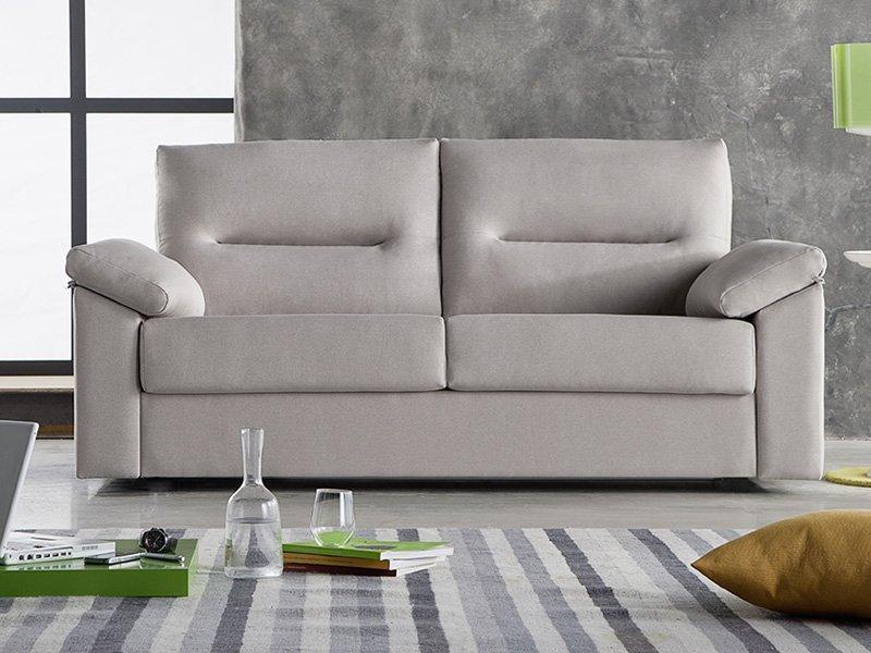 Sof cama de sistema italiano para apertura cojines for Sofas cama dos plazas sistema italiano