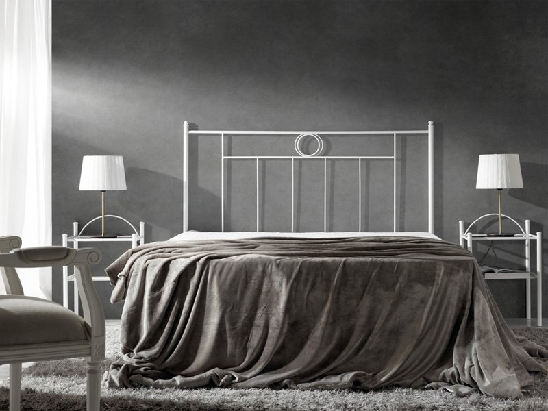 Cabezal cama forja atenea cabecero dormitorio hierro - Cabezal dormitorio matrimonio ...