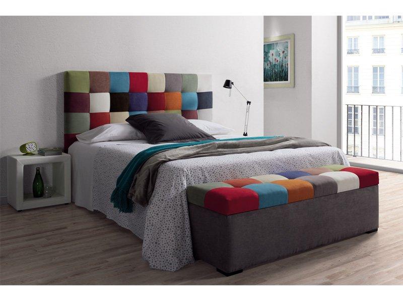 Cabezal tapizado patchwork - Cabezal de cama tapizado ...