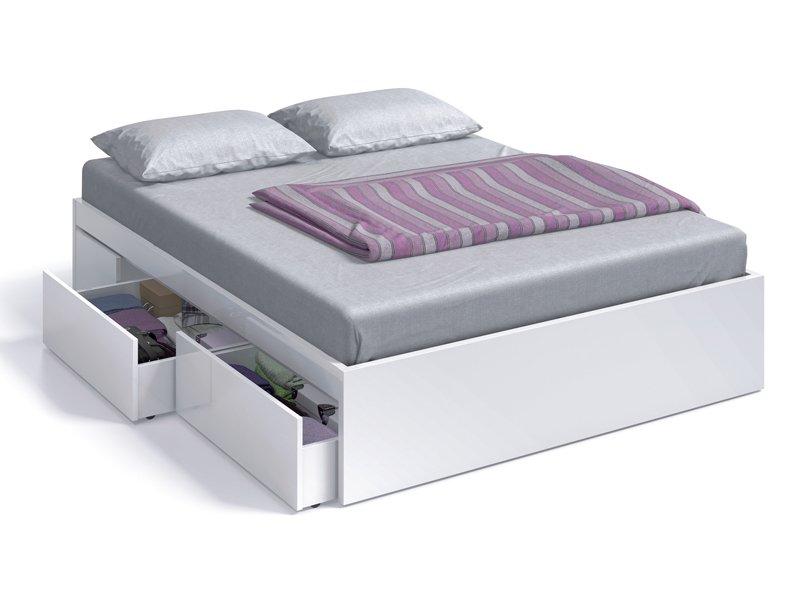 Cama ba era para dormitorio de matrimonio con cajones for Ofertas de camas de matrimonio