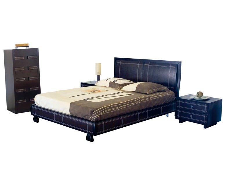 cama de matrimonio madera wengue
