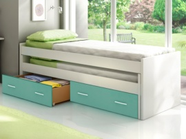 Cama doble compacta Basic