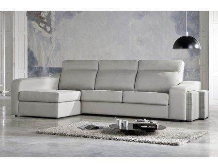 Sof cama con chaise longue venta chaise longue de cama italiana - Sofa piel chaise longue ...