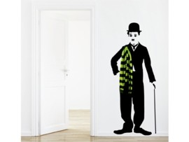 Vinilo de Chaplin para el hogar