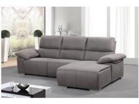 Sof relax con mecanismo autom tico oferta chaise longue - Sofa gris marengo ...