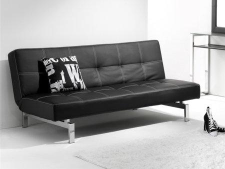 Sof cama libro sof de apertura tipo libro en piel sint tica for Sofas rinconeras piel ofertas