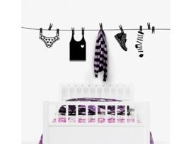 Vinilo de tendedero para ropa