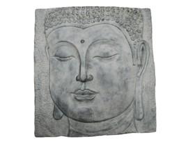 Cuadro decorativo de buda en piedra